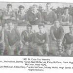 1963 St Enda Cup Winners