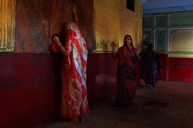 Krishna temple.  Jaipur. Rajasthan