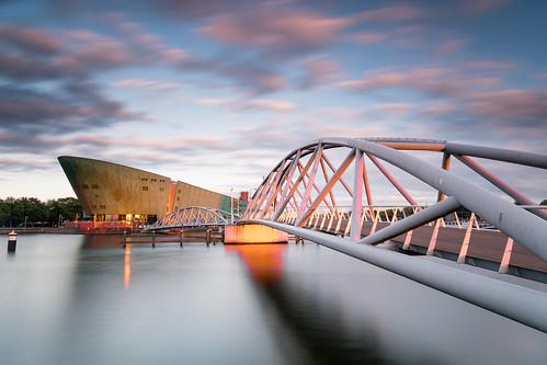 fujixpro2 netherlands bridge travel museum architecture europe amsterdam sunset noordholland nl