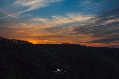 sunset canon sunsets newrivergorge fayettevillewestvirginia canon70d canon28300mmeff3556l