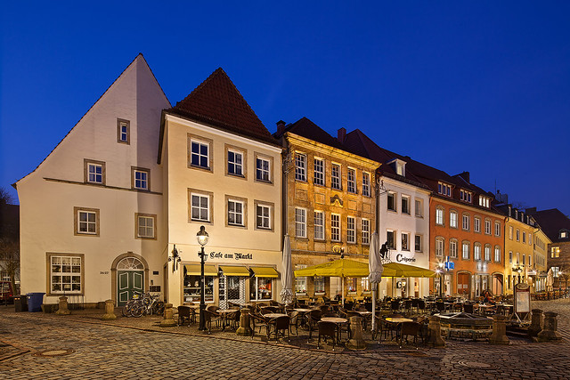 Houses at the markes places Osnabrück II