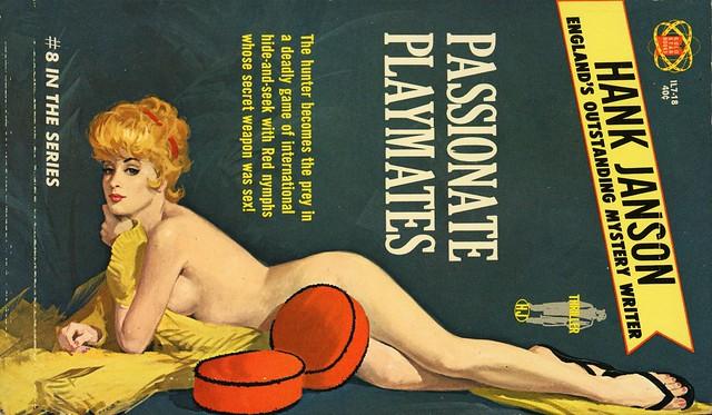 Gold Star Books IL7-18 - Hank Janson - Passionate Playmates
