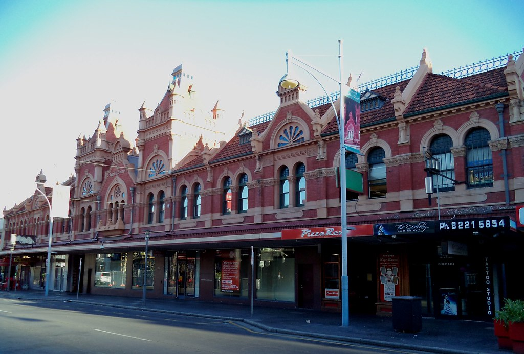 Adelaide Hindley Street Wests Coffee Palace Built In Gra