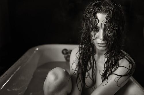 """Neraida """"In The Tub'   by TJ Scott"""