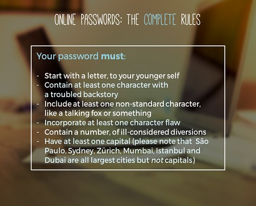 How to choose a password | by thewikiman