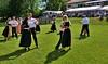 Rasenpolka - die Musik kommt natürlich von der Blaskapelle