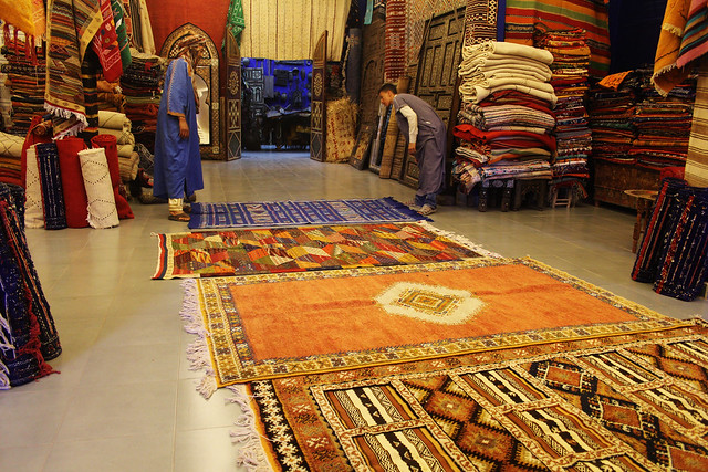 Shop in Ouarazazate