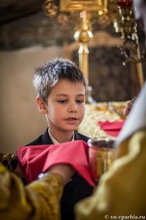 Литургия в Ильинском соборе 540