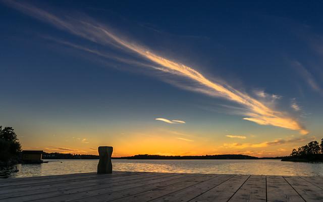 Värmdö Sunset [Explored September 8 2016]