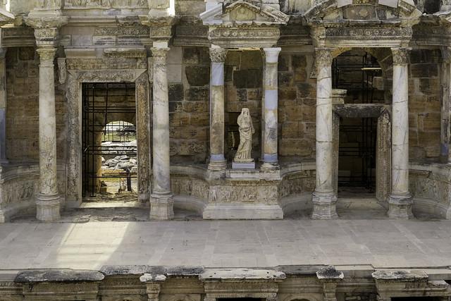 Hierapolis: The Roman Theater – VIII: The Scaenae