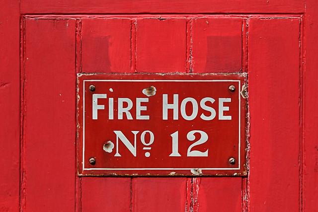 FIRE HOSE No 12