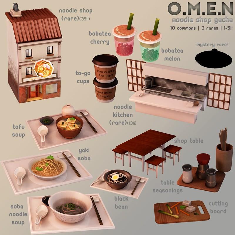 O.M.E.N - Noodle Shop - TAG