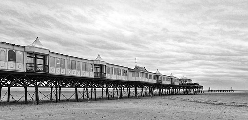 St Annes Pier In Winter 2 | by bidkev1 and son (see profile)