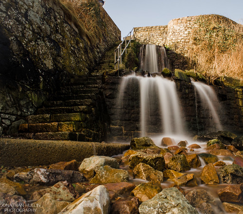 longexposure nature water waterfall nikon rocks steps jersey channelislands d5100