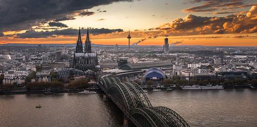 sunset germany deutschland cityscape sonnenuntergang cologne köln sight kölnerdom colognecathedral stadtfotografie fotokurse markuslandsmann