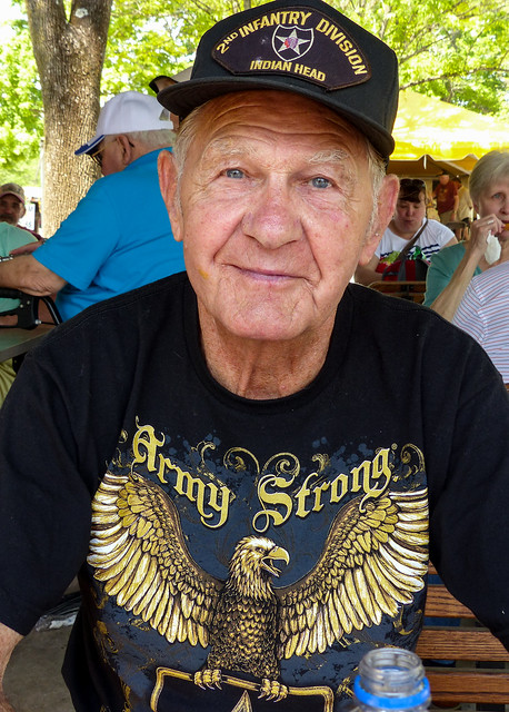 WWII US Army Veteran, 90 Year Old Leroy