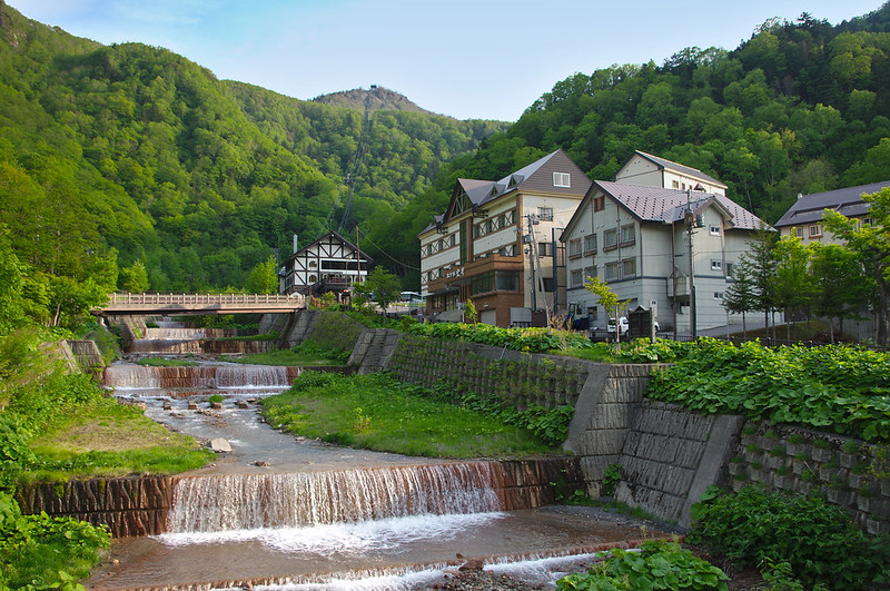 Village de Sounkyo onsen