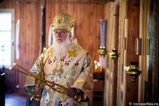 Божественная литургия в пос.Котово 130
