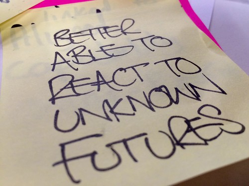 Better able to react to unknown futures. | by adactio
