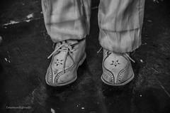 6apr15. Restauro marionette: scarpe