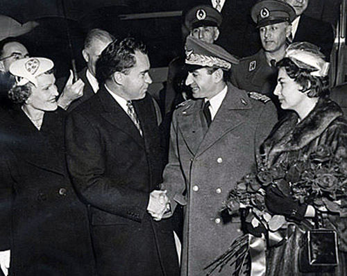 Image result for nixon and the shah