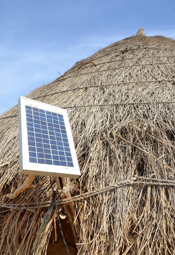 Solar panel, Thar desert, Pakistan | Ameer Hamza | Flickr