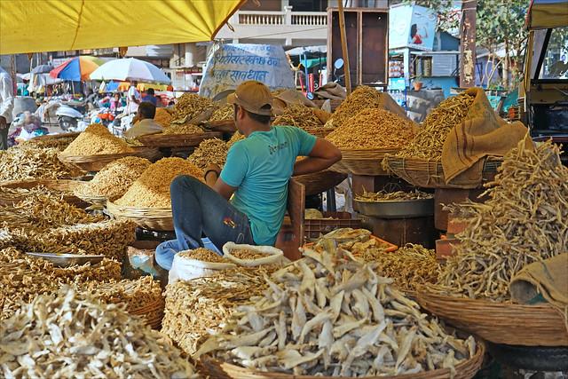 Marché de Nashik  (Inde)