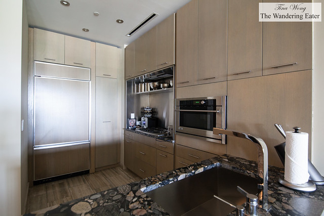 Kitchen area at Moray Penthouse