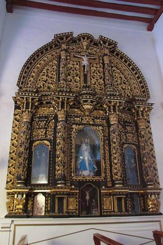 San Francisquito Church - retablo