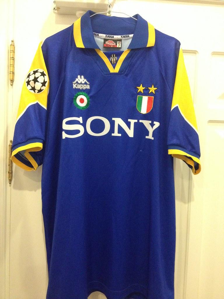 88fc68cf3 ... Juventus MatchWorn Issued champions league away shirt 1995 / 96 | by  Shamlan17