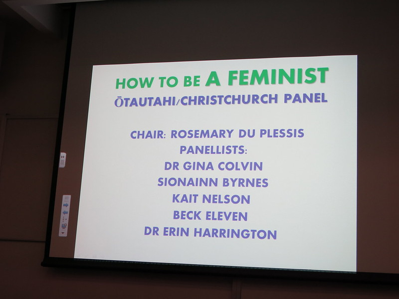 How to be a feminist panel