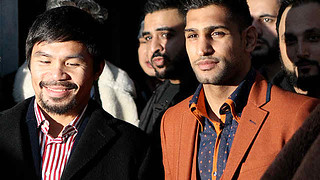 Amir Khan has seen Pacquiao up close, likes Mayweather | by Just Entertainment