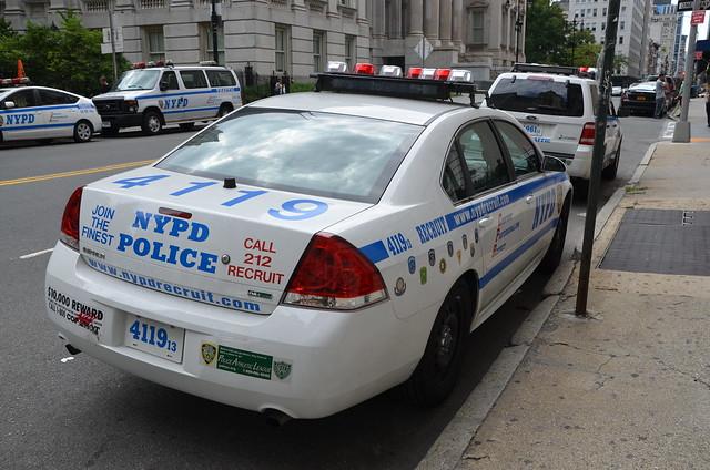 NYPD RECRUIT 4119