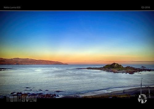 sunset sky beach water island coast glow walk coastal 830 lumia tomraven pureview aravenimage q32016