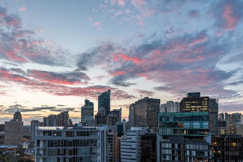 australia night events cityscape sydney sunset nightshot dusk newsouthwales au