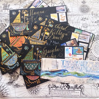 Haitian Armada...outgoing mail | by Smallest Forest