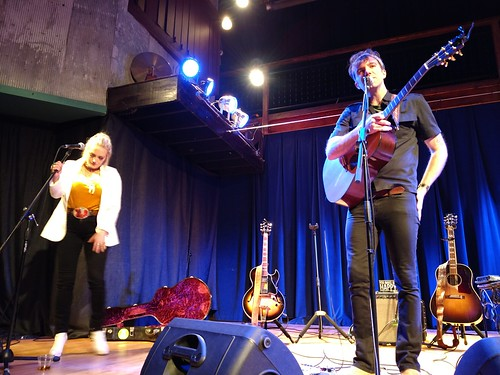 Three Oaks, Michigan - Stephen Kellogg and Hailey Steele at Acorn Theater | by Darrell Harden