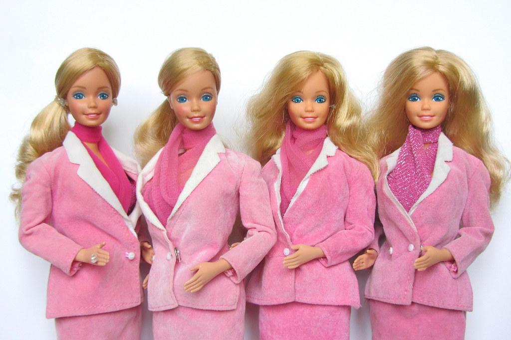 Day to Night Barbie 1984 COMPARISON