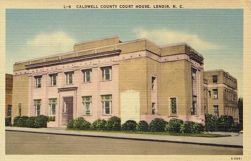 postcard courthouse