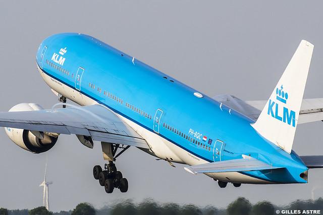 AMS 03 juin 2017 Boeing 777 KLM PH-BQC