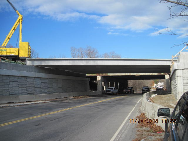 Precast Concrete Beam Installation | Ongoing installation of