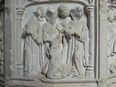 seven sacrament font: Confirmation