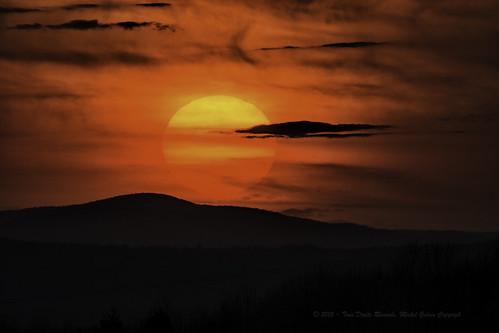sunset © moon canada nature lune spring nikon québec oiseau qc saintmalo coucherdesoleil 2015 d7100 lr5 nikond7100 michelguérin nikcollection googlenikcollection lightoom5 tamton150600 activitéprintemps