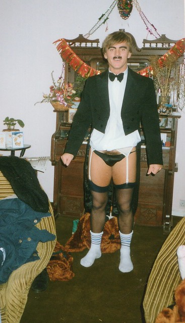 1992 - 04 - Keith as Charlie Chaplin