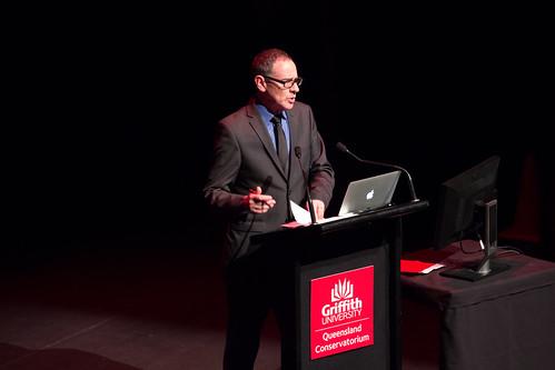 Professor Scott Harrison Welcomes NIME 2016 delegates to QCGU | by johnrobertferguson