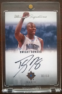 2007-08 Ultimate Collection Signatures #DH Dwight Howard /50 | by milkowski.pawel
