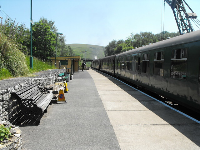Swanage Railway - Norden Station - June 2010