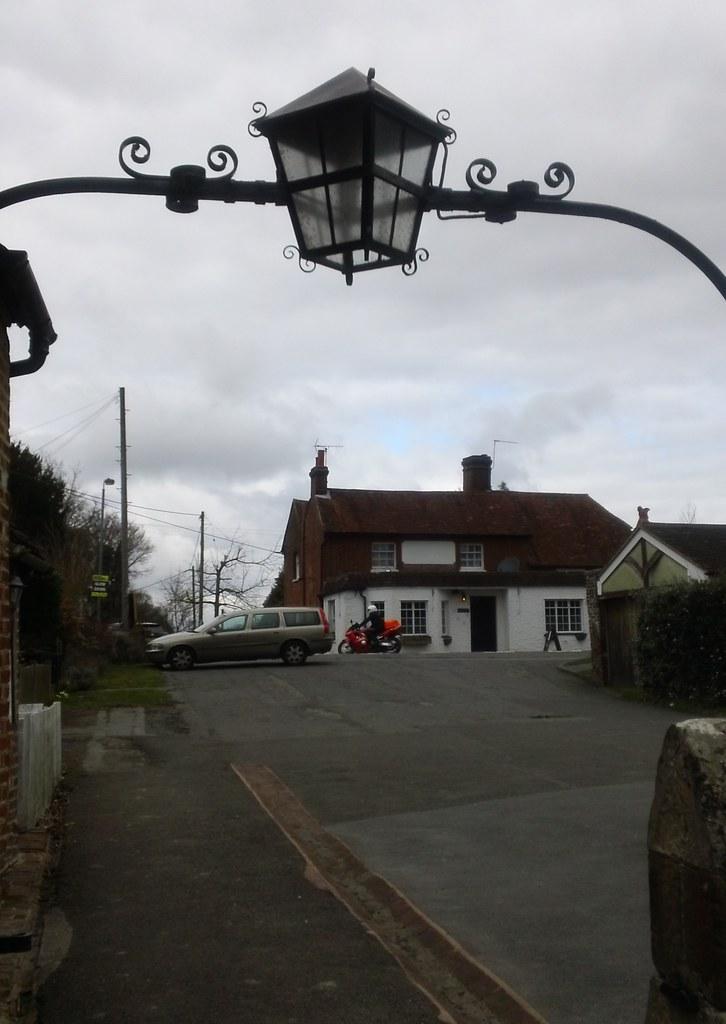 pub from churchyard Framfield
