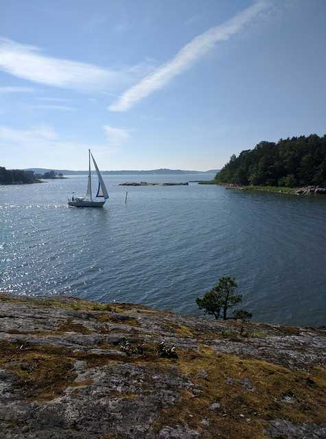 Sailboat, Turku Archipelago