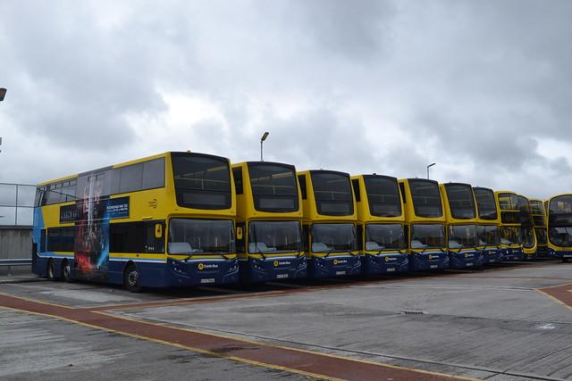 Dublin Bus VT56 07-D-70056 - VT57 07-D-70057 - VT58 07-D-70058 - VT70 07-D-70070 - VT67 07-D-70067 - VT61 07-D-70061 - VT63 07-D-70063 - AX589 06-D-30589